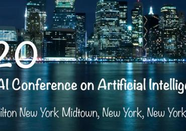 IOS Press is attending the AAAI 2020, Feb 7-12, Hilton New York Midtown, New York, USA